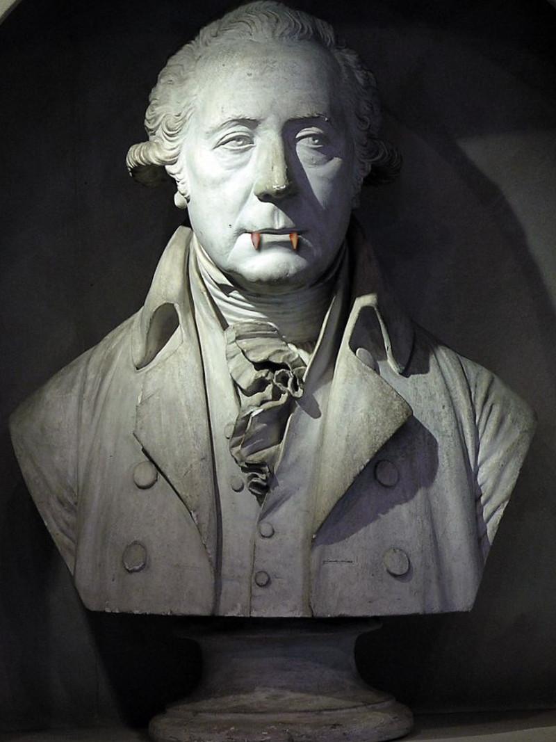 Plaster bust of Matthew Boulton. Credit Birmingham Museums Trust