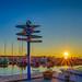 100 Days of Summer #61 - Harbor Sunset