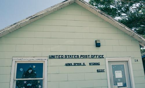 Hawk Springs, Wyoming Post Office