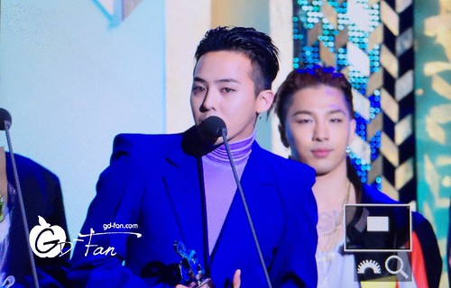 Big Bang - The 5th Gaon Char K-Pop Awards - 17feb2016 - GD Fan - 05