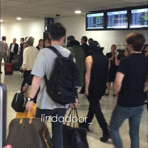 Big Bang - Melbourne Airport - 20oct2015 - lindadoor_ - 05