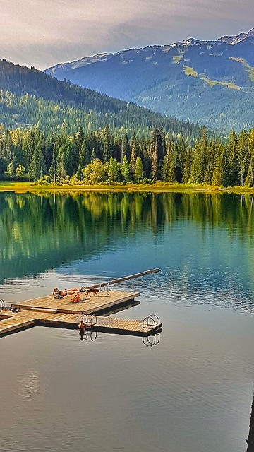 The lost lake in Whistler