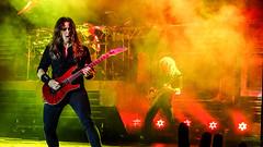 Kiko Loureiro & Dave Mustaine - Megadeth - Porto Alegre 08/16/2016
