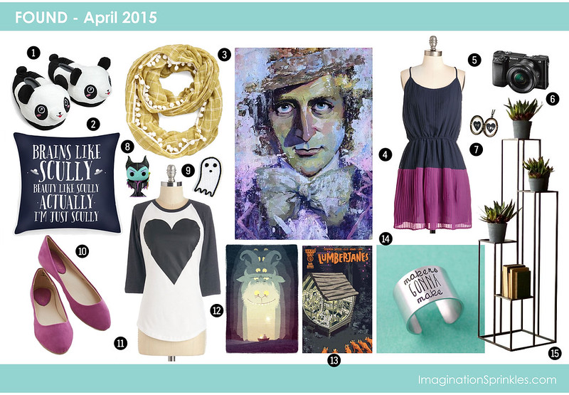 FOUND | APRIL – X Files, Cameras, Ghost, and Navy/Fuchsia Things | ImaginationSprinkles.com