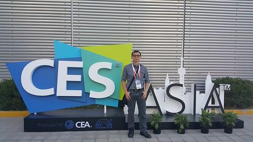 นายกาฝากตะลุย CES Asia 2015