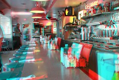 66 Diner in Albuqueruque NM in 3d