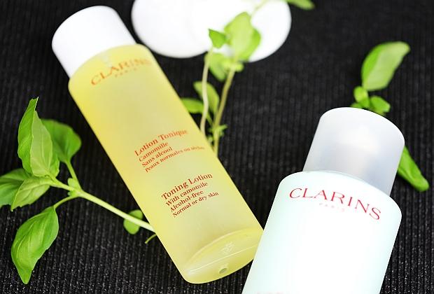 Rumiankowy tonik i mleczko z alpejskimi ziołami Clarins