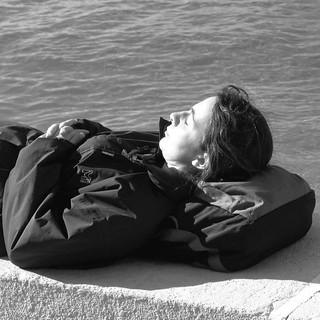 A nap at the Lisbon sun