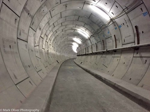 Crossrail Big East West Breakthrough Thames Tunnel Walk