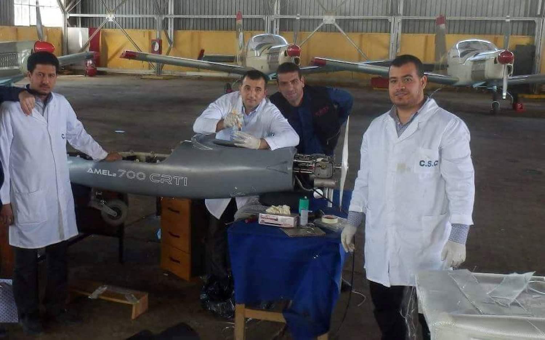 الصناعة العسكرية الجزائرية : طائرة بدون طيار [  امل 700-2  ] 27976043184_89ac9ea143_o