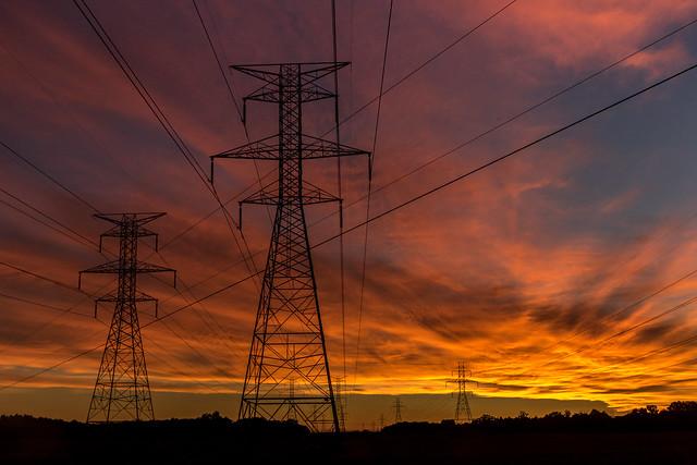 Powerfull Sunrise.   -    Explore