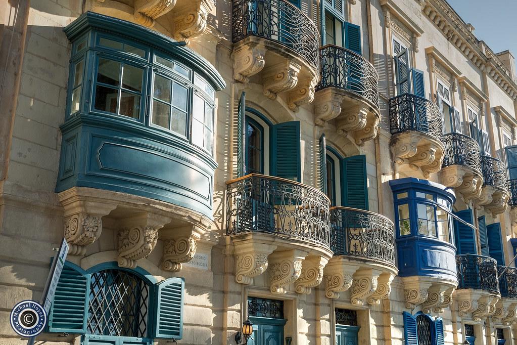 Valletta Balconies (3)