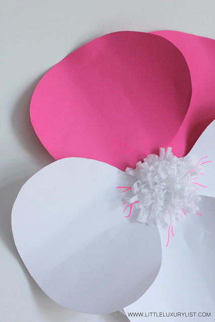 Paper pansy detail by little luxury list
