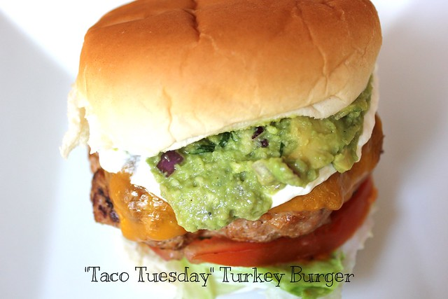 """Taco Tuesday"" Turkey Burger"