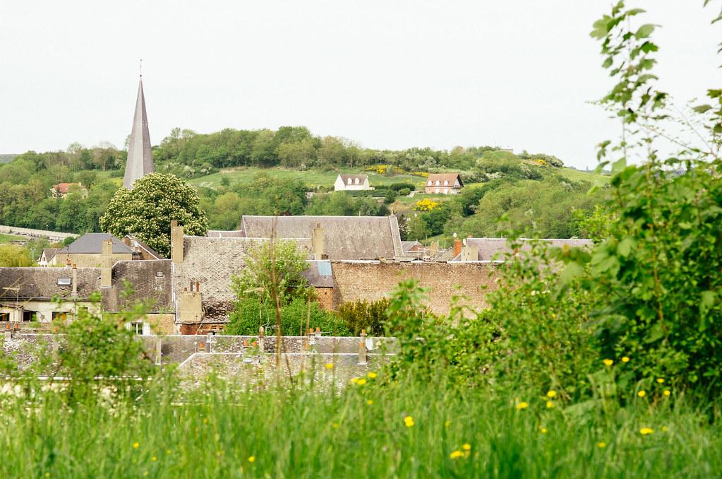 Carnet de voyage en France - Ardennes - Les toits de Givet