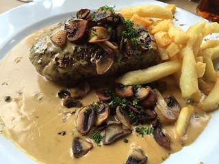 Tournedó en el Restaurant Du Progres (Gante)
