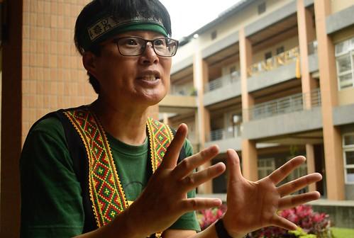 國立東華大學族群關係與文化學系教授、FATS團隊主持人葉秀燕。(謝宗璋攝影)