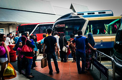 Buses at Melaka Sentral