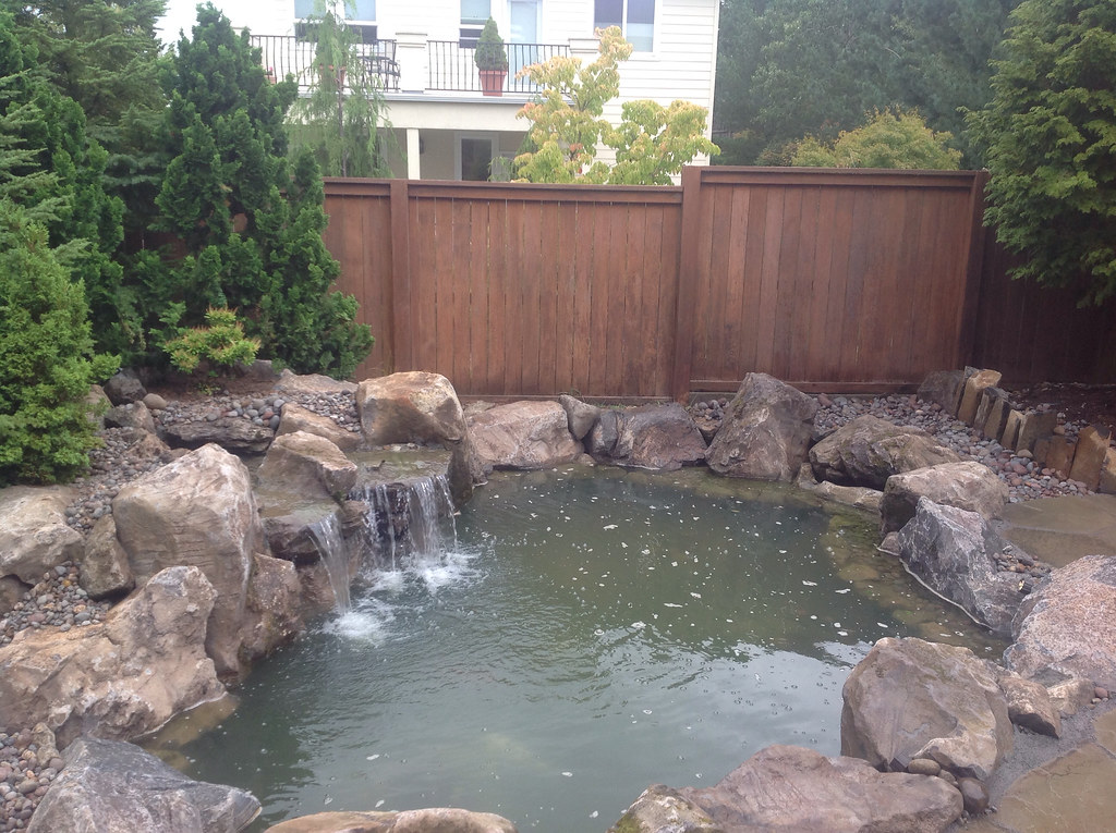 Stone Patio, Rock Patio, Rock Columns, Stone Columns, Stone Pavers, Rock  Pavers, Waterfall, Water Feature, Rock Waterfall, Landscaping, Landscape,  Stone, ...