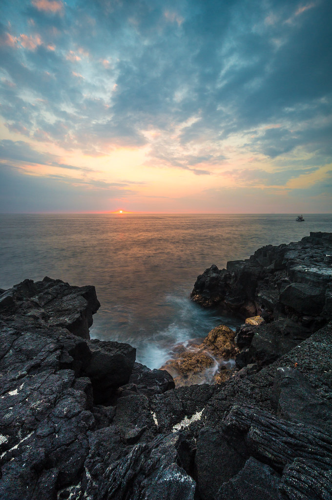 Sunset, Kona, Hawaii