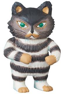 「佐野洋子」知名繪本《活了一百萬次的貓》UDF系列 登場!!UDF 100万回生きたねこ