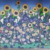 flower mural, 7/20/16