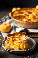Homemade Warm Peach Pie