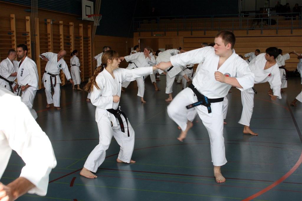 2008 Training mit Kanazawa SOKE in Bulle