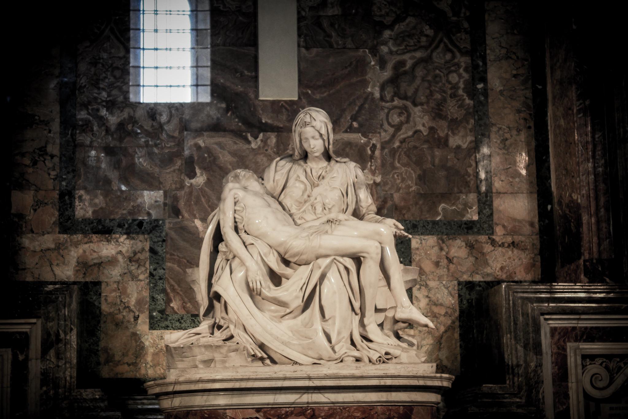 La Pietà, Michel-Ange