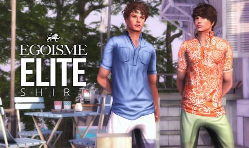 Egoisme introduces ELITE SHIRTS FOR MEN