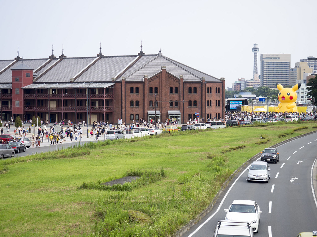 PIKACHU Yokohama Red Brick Warehouse