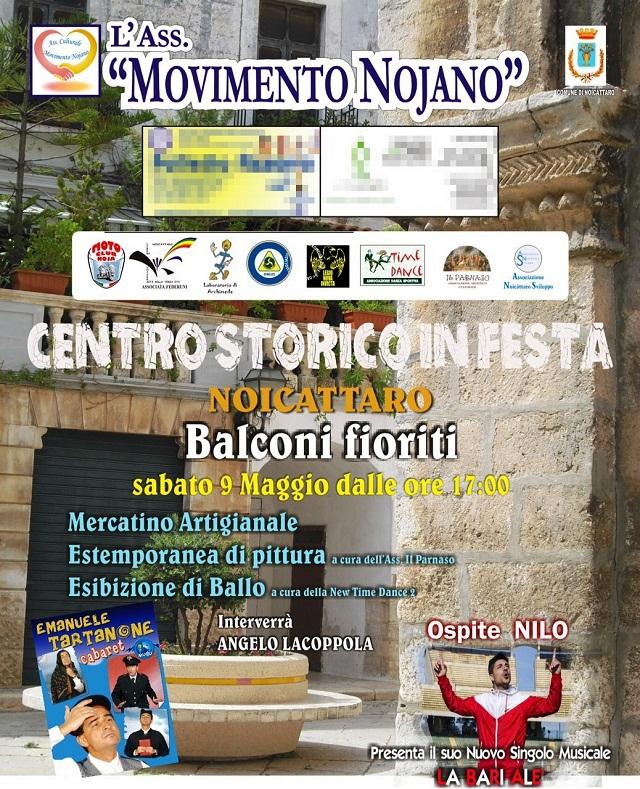 Noicattaro. Centro storico in festa intero