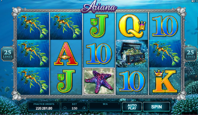 Ariana slot game online review