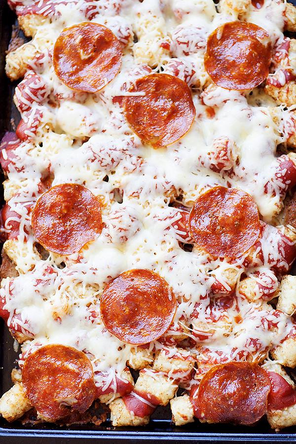 pizza totchos