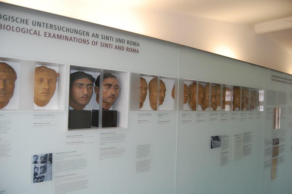 Máscaras de cera para clasificar prisioneros