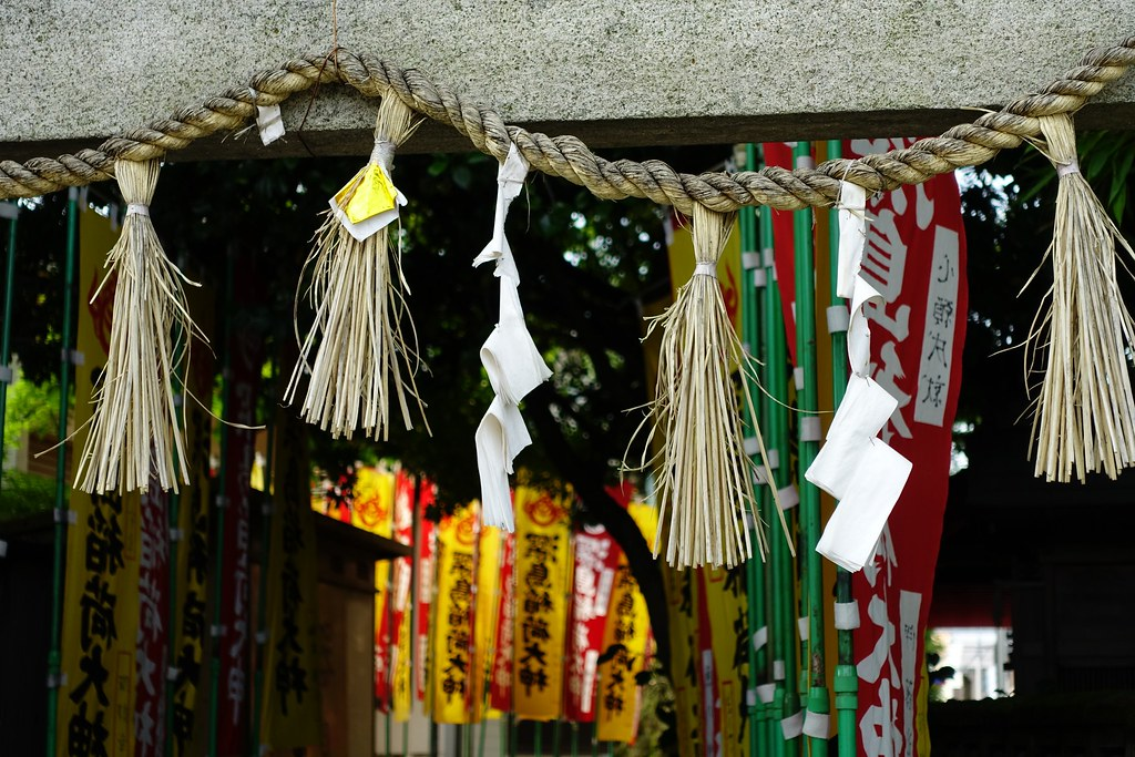One scene in neighborhood(@Fukashima Shinto shrine) 2015/06 No.1.