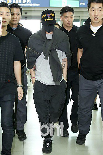BIGBANG GDTOPDAE departure Seoul to Hangzhou Press 2015-08-25 110