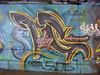 Sterling graffiti, Leake Street