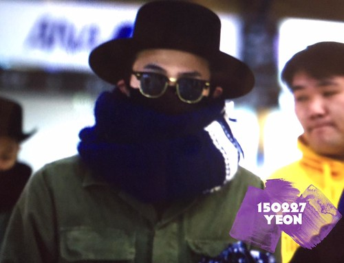 Big Bang - Gimpo Airport - 27feb2015 - G-Dragon - J_withG - 02