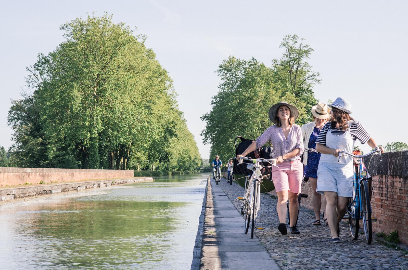 Randonnée à vélo le long du canal du midi - Carnet de voyage Tarn-et-Garonne