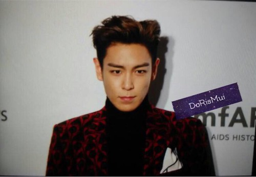TOP - amfAR Charity Event - Red Carpet - 14mar2015 - muilam1128 - 03
