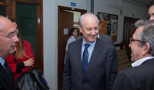 Rui Rio em visita a residências universitárias, no Porto